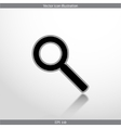 search web flat icon vector image vector image
