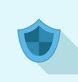 shield icon vector image vector image