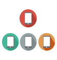 Smartphone Flat icon vector image