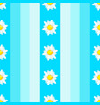 summer seamless pattern with daisies vector image