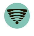 Wi fi icon sign vector image vector image