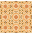 Arabic style vintage grunge pattern vector image