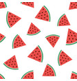 abstract pattern with watermelons vector image vector image