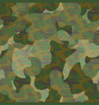 army camouflage pattern vector image vector image