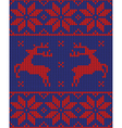 blue and red jumper vector image vector image