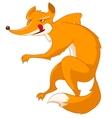 cartoon character fox vector image