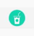 drink icon sign symbol vector image vector image