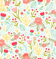 Fun floral repeat pattern