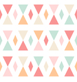 Geometric abstract triangles seamless pattern vector image vector image
