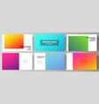 minimalistic abstract vector image vector image