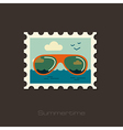 Sunglasses icon Summer Vacation vector image