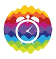 Time Rainbow Color Icon for Mobile Applications vector image vector image