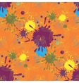 abstract seamless pattern with butterfly vector image vector image