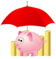 piggy-bank vector image