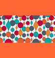 seamless abstract wallpaper pattern colorful vector image