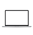 Thin Laptop vector image vector image