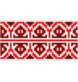ukrainian embroidery vector image vector image