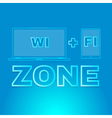 Area wireless access vector image vector image