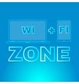Area wireless access vector image