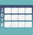 calendar-blue-color vector image