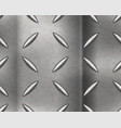 Industrial metal plate with diamond non slip