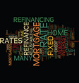 you might still want to refinance text background vector image vector image