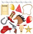 cowboy birthday party clip art