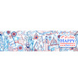 4th july independence day america background vector image vector image