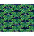 Blue lemon pattern vector image vector image