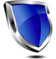 Blue shield vector | Price: 1 Credit (USD $1)
