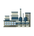 Large production plant icon cartoon style vector image vector image