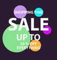 sale banner templates vector image