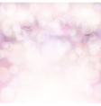 soft pink bokeh background vector image vector image
