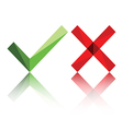 True False or Yes No icon vector image
