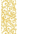 Abstract gold dust glitter swirl pattern vector image