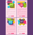big sale best choice weekend one day special price vector image