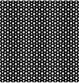 Black and White Hypnotic Background Seamless vector image