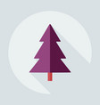 flat modern design with shadow icons christmas vector image vector image