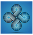 infinite symbol vector image vector image