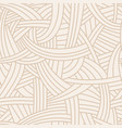 knotted seamless pattern vector image