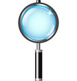 magnifier with handle vector image vector image
