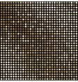 Abstract gold mosaic background vector image vector image