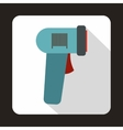 Barcode scanner icon in flat style vector image vector image
