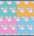 children s seamless pattern set cute little pink vector image vector image