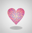 Colorfull Heart vector image vector image