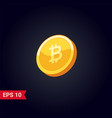 crypto currency hype vector image vector image