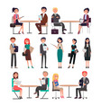 seminar of business collection in vector image vector image
