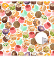 turkish delight eastern sweets vector image vector image