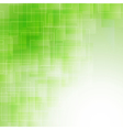 abstract green icy background vector image vector image
