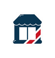 barber shop symbol icon design vector image